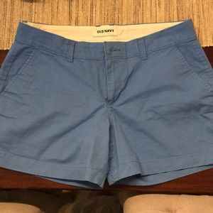 Baby blue summer shorts